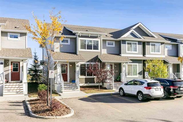 28 140 Youville Drive E, Edmonton, AB T6L 5X8 (#E4216607) :: Initia Real Estate