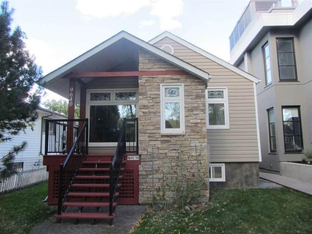 9640 78 Avenue, Edmonton, AB T6C 0P3 (#E4217183) :: Initia Real Estate