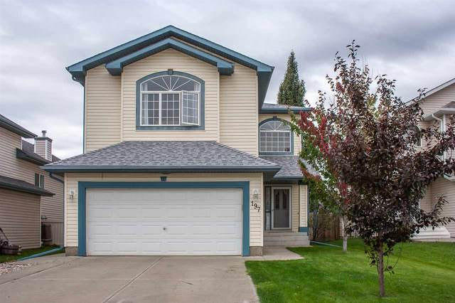 197 Lakewood Drive, Spruce Grove, AB T7X 4H6 (#E4217294) :: The Foundry Real Estate Company