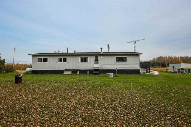282077 Hwy 13, Rural Wetaskiwin County, AB T0C 2V0 (#E4217753) :: RE/MAX River City