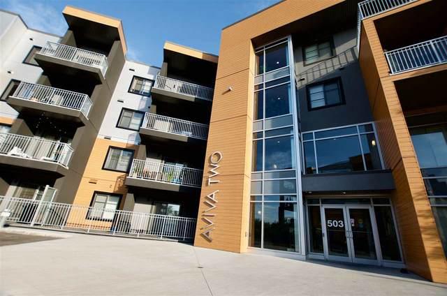 217 503 Albany Way, Edmonton, AB T6V 1J6 (#E4218178) :: The Foundry Real Estate Company