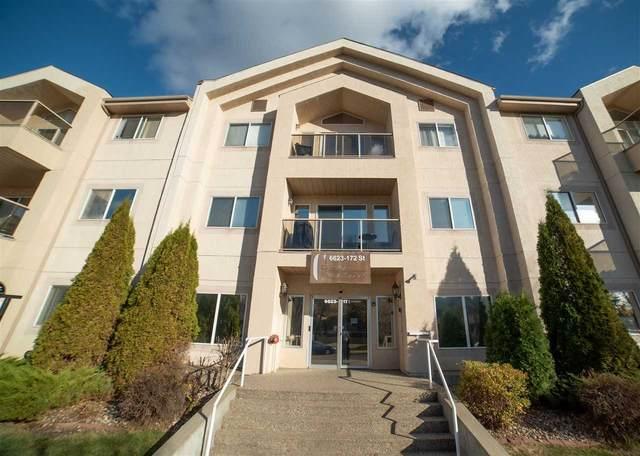 306 6623 172 Street, Edmonton, AB T5T 4J5 (#E4218220) :: The Foundry Real Estate Company