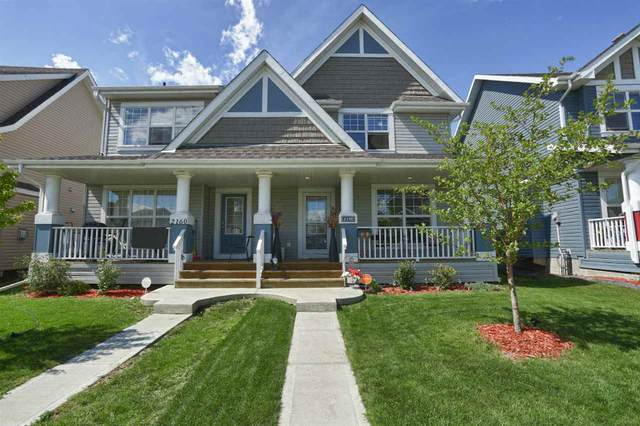 2158 71 Street SW, Edmonton, AB T6X 0T7 (#E4218409) :: Initia Real Estate
