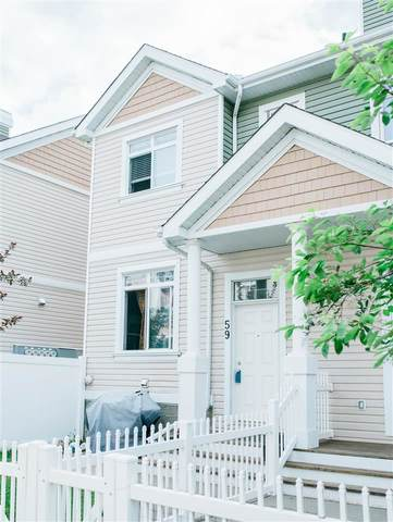 59 1804 70 Street, Edmonton, AB T6X 0H4 (#E4218580) :: The Foundry Real Estate Company