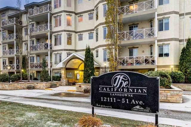 308 12111 51 Avenue, Edmonton, AB T6H 6A3 (#E4218612) :: Initia Real Estate