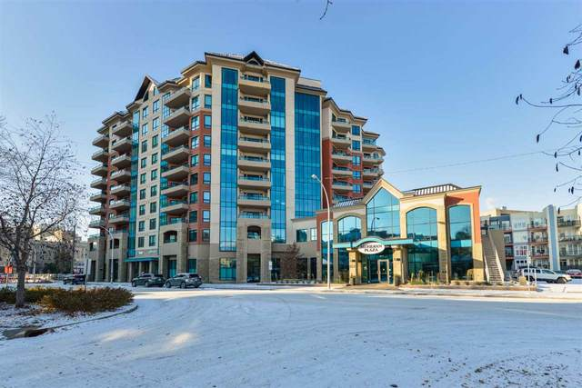 306 10142 111 Street, Edmonton, AB T5K 1K6 (#E4218696) :: Initia Real Estate