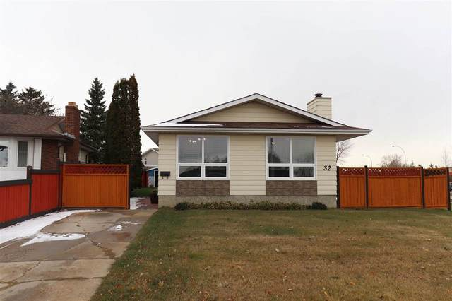 32 Hunt Road, Edmonton, AB T5A 4C4 (#E4219036) :: The Foundry Real Estate Company