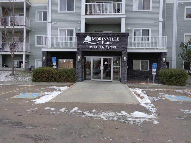 222 9910 107 Street, Morinville, AB T8R 0A3 (#E4219084) :: The Foundry Real Estate Company