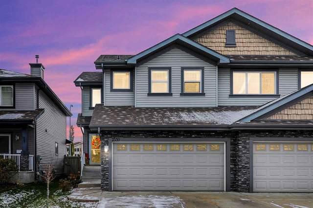 2339 Lemieux Place, Edmonton, AB T6R 0C3 (#E4219125) :: Initia Real Estate