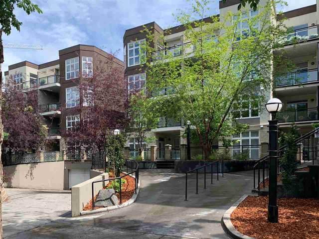134 10407 122 Street, Edmonton, AB T5N 4B8 (#E4219143) :: Initia Real Estate