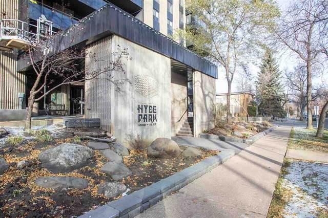 1102 10160 115 Street, Edmonton, AB T5K 1T6 (#E4219263) :: The Foundry Real Estate Company