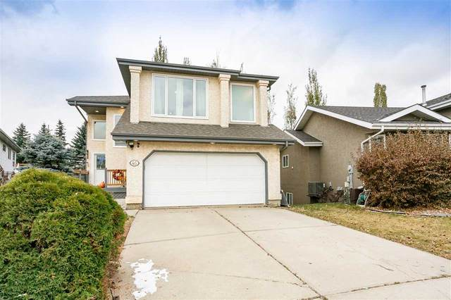 46 Harcourt Crescent, St. Albert, AB T8N 6K7 (#E4219388) :: The Foundry Real Estate Company