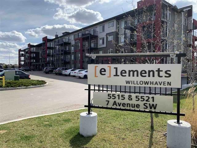 303 5521 7 Avenue, Edmonton, AB T6X 2A8 (#E4219426) :: The Foundry Real Estate Company