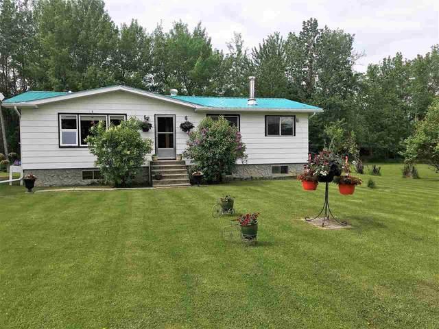 55106 Range Road 100, Rural Yellowhead, AB T0E 2M0 (#E4219528) :: The Foundry Real Estate Company