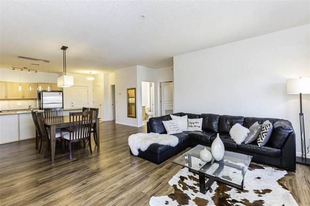 306 160 Magrath Road, Edmonton, AB T6R 3T7 (#E4219540) :: The Foundry Real Estate Company