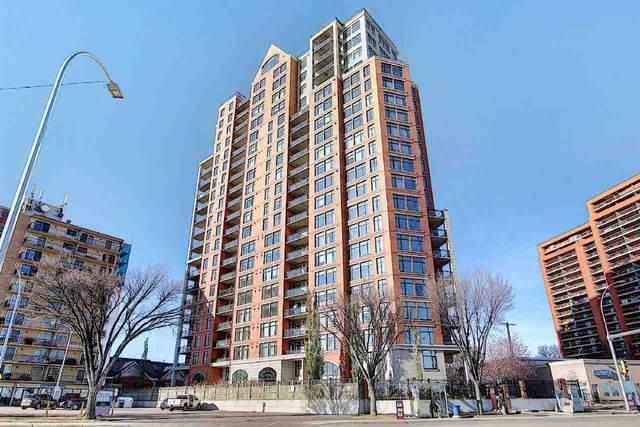 803 9020 Jasper Avenue, Edmonton, AB T5H 3S8 (#E4219798) :: The Foundry Real Estate Company