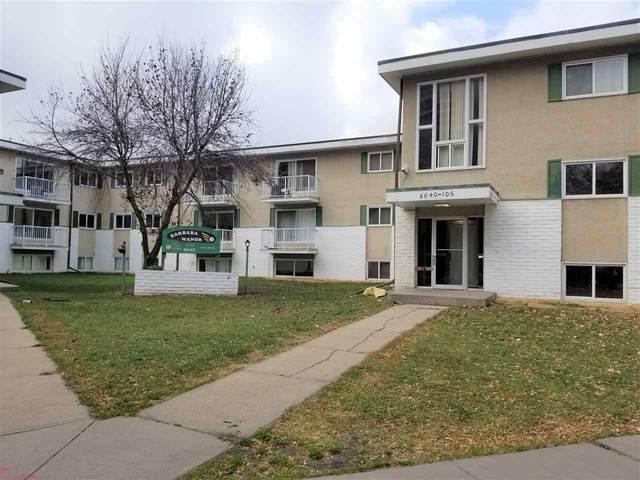 210 8640 106 Avenue, Edmonton, AB T5H 0M7 (#E4219993) :: The Foundry Real Estate Company