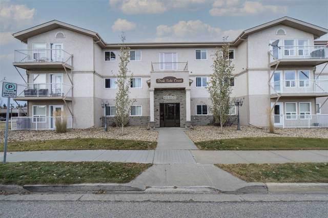 102 4604 48A Street, Leduc, AB T9E 5X8 (#E4220062) :: The Foundry Real Estate Company