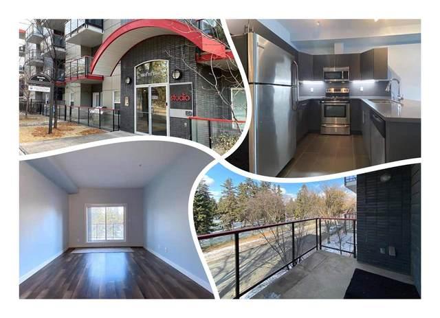 302 10611 117 Street, Edmonton, AB T5H 0G6 (#E4220121) :: RE/MAX River City