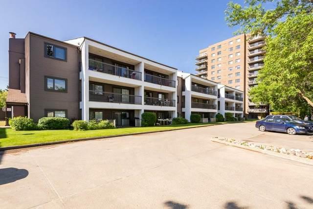 212 10545 Saskatchewan Drive, Edmonton, AB T6E 6C6 (#E4220461) :: The Foundry Real Estate Company
