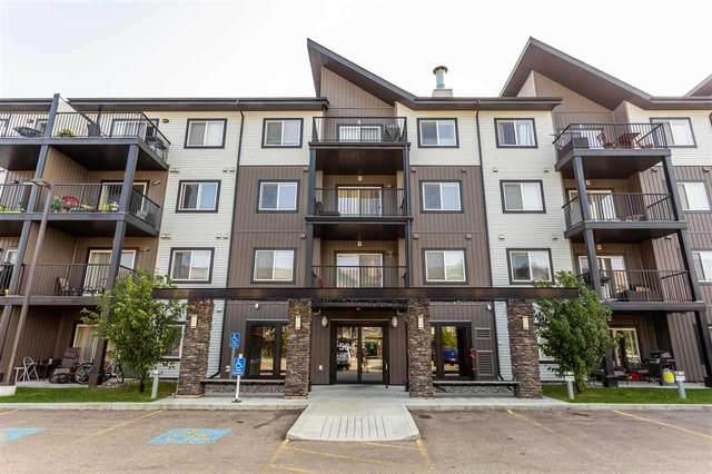 433 504 Albany Way, Edmonton, AB T6V 0L2 (#E4220542) :: The Foundry Real Estate Company