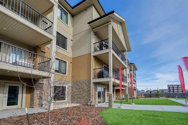 105 1031 173 Street SW, Edmonton, AB T6W 3E4 (#E4220797) :: The Foundry Real Estate Company