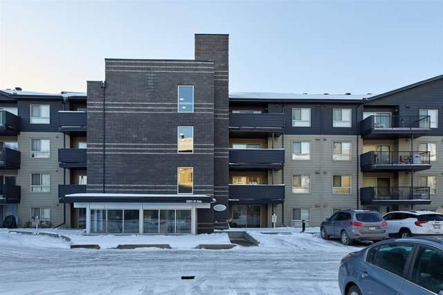 202 17011 67 Avenue, Edmonton, AB T5T 6Y6 (#E4220928) :: The Foundry Real Estate Company