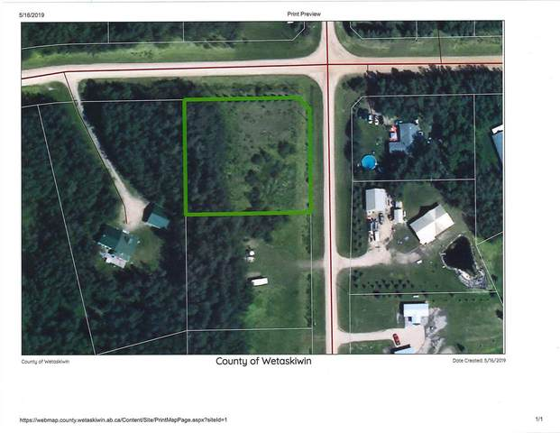 1 Beachside Estates, Rural Wetaskiwin County, AB T0C 2V0 (#E4221180) :: The Foundry Real Estate Company