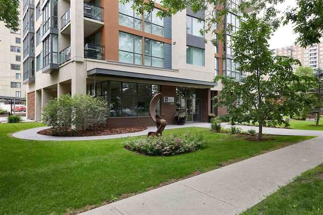 1204 10046 117 Street NW, Edmonton, AB T5K 1X2 (#E4221188) :: RE/MAX River City