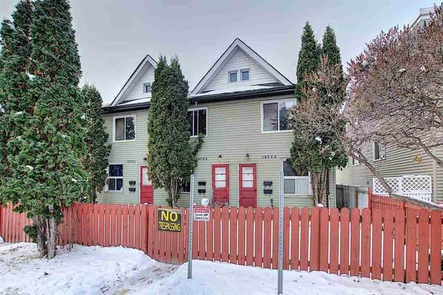 10726 106 ST NW NW, Edmonton, AB T5H 2X9 (#E4221348) :: Initia Real Estate