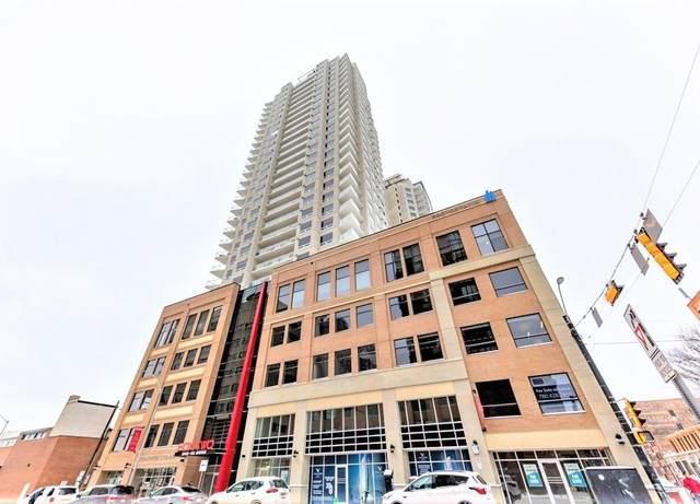 1205 10410 102 Avenue, Edmonton, AB T5J 0E9 (#E4221526) :: The Foundry Real Estate Company