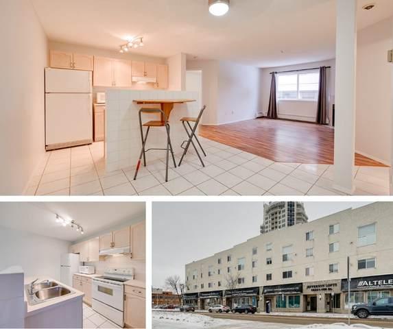 12 10331 106 Street, Edmonton, AB T5J 1H8 (#E4221708) :: The Foundry Real Estate Company