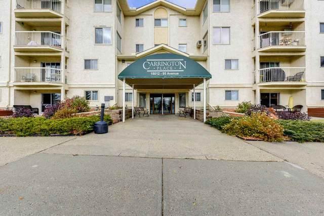 218 18012 95 Avenue, Edmonton, AB T5T 5Z2 (#E4221746) :: The Foundry Real Estate Company
