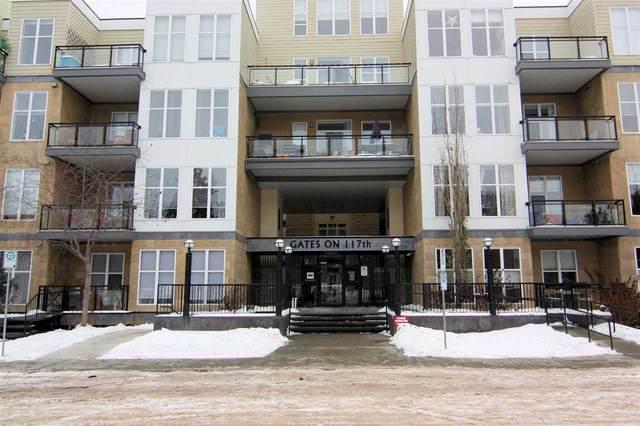 116 10531 117 Street, Edmonton, AB T5H 0A8 (#E4222017) :: RE/MAX River City