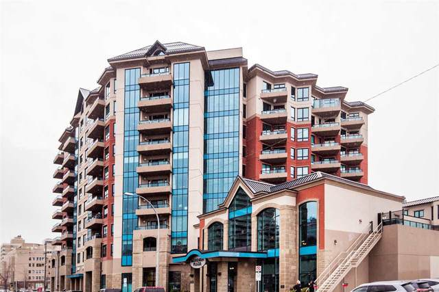 406 10142 111 Street, Edmonton, AB T5K 1K6 (#E4222256) :: Müve Team | RE/MAX Elite