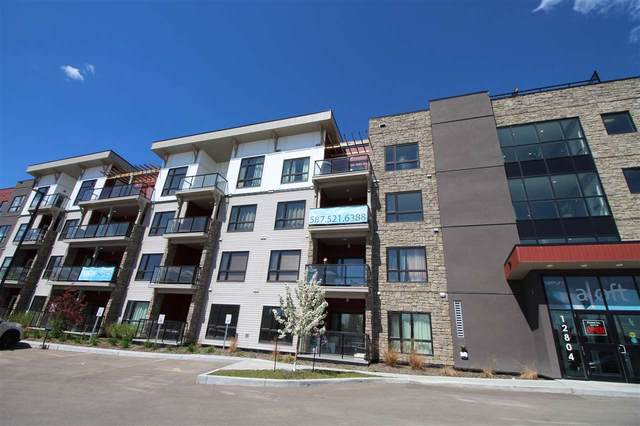 201 12804 140 Avenue, Edmonton, AB T6V 0M3 (#E4222538) :: The Foundry Real Estate Company
