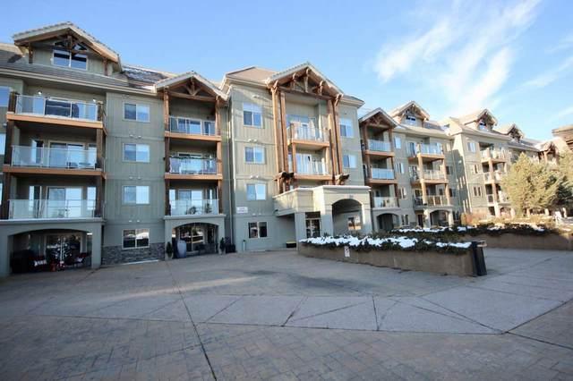 430 278 Suder Greens Drive, Edmonton, AB T5G 6V6 (#E4222654) :: RE/MAX River City