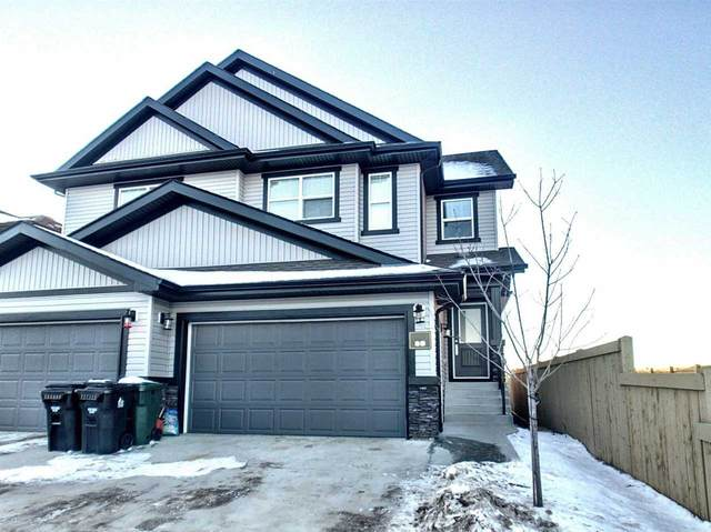89 Springwood Way, Spruce Grove, AB T7X 0S8 (#E4222832) :: The Foundry Real Estate Company