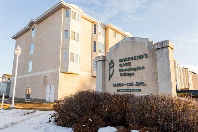 252 13441 127 Street, Edmonton, AB T5L 5B6 (#E4222921) :: The Foundry Real Estate Company