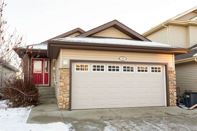 18 Norelle Terrace, St. Albert, AB T8N 3V5 (#E4222996) :: The Foundry Real Estate Company