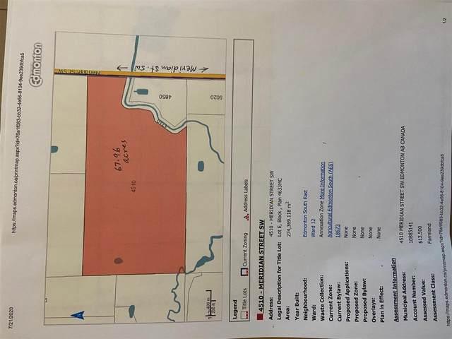 4510 Meridian St SW, Edmonton, AB T6X 2P5 (#E4223110) :: Initia Real Estate