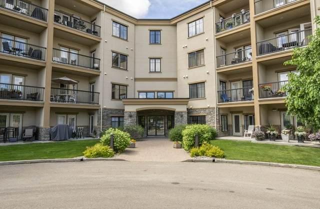 307 160 Magrath Road, Edmonton, AB T6R 3T7 (#E4223758) :: The Foundry Real Estate Company