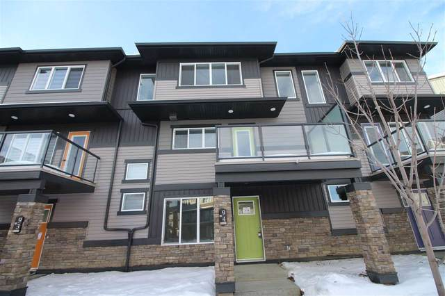 94 1530 Tamarack Boulevard, Edmonton, AB T6T 2E6 (#E4223918) :: The Foundry Real Estate Company
