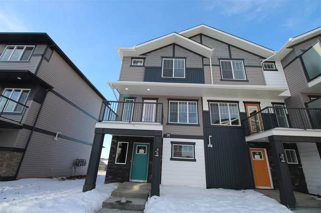 96 1530 Tamarack Boulevard, Edmonton, AB T6T 2E6 (#E4223919) :: The Foundry Real Estate Company