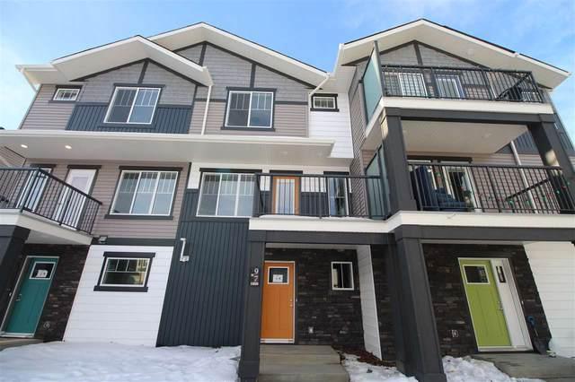97 1530 Tamarack Boulevard, Edmonton, AB T6T 2E6 (#E4223921) :: The Foundry Real Estate Company