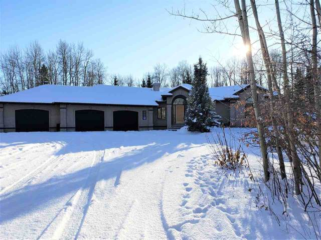 23 26029 Twp Road 512 White Tail Way, Rural Parkland County, AB T7Z 3A3 (#E4224066) :: The Foundry Real Estate Company