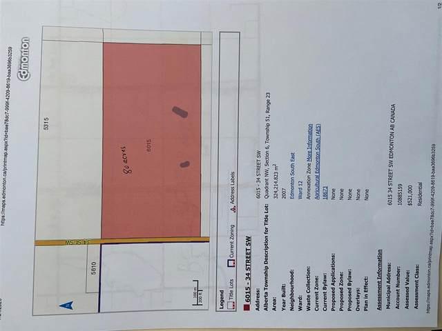 6015 34 ST SW, Edmonton, AB T6X 2R8 (#E4224080) :: Initia Real Estate