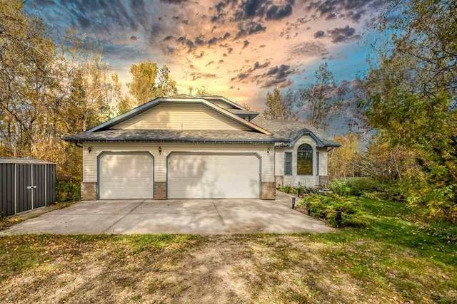 102 52120 Range Road 274 Road, Rural Parkland County, AB T7X 3V2 (#E4224091) :: The Foundry Real Estate Company