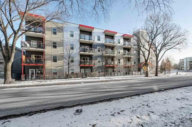 118 10611 117 Street, Edmonton, AB T5H 0G6 (#E4224177) :: The Foundry Real Estate Company