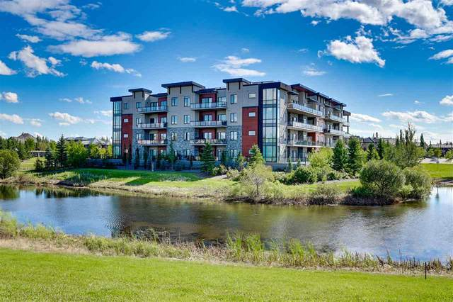 204 4042 Mactaggart Drive, Edmonton, AB T6R 0W2 (#E4224427) :: The Foundry Real Estate Company